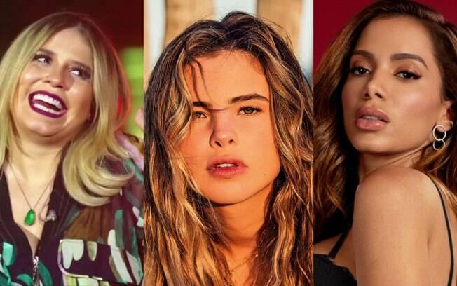 Marília Mendonça, Giulia Be e Anitta estão entre as sete mais ouvidas de dezembro no Spotify