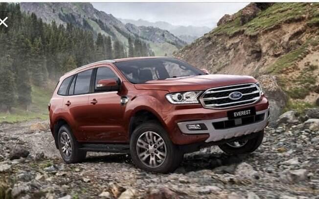 Montado com a mesma mecânica da Ranger, o   Ford Everest poderia fazer sucesso entre os SUVs e picapes no Brasil