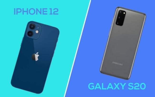 iPhone 12 vs Galaxy S20
