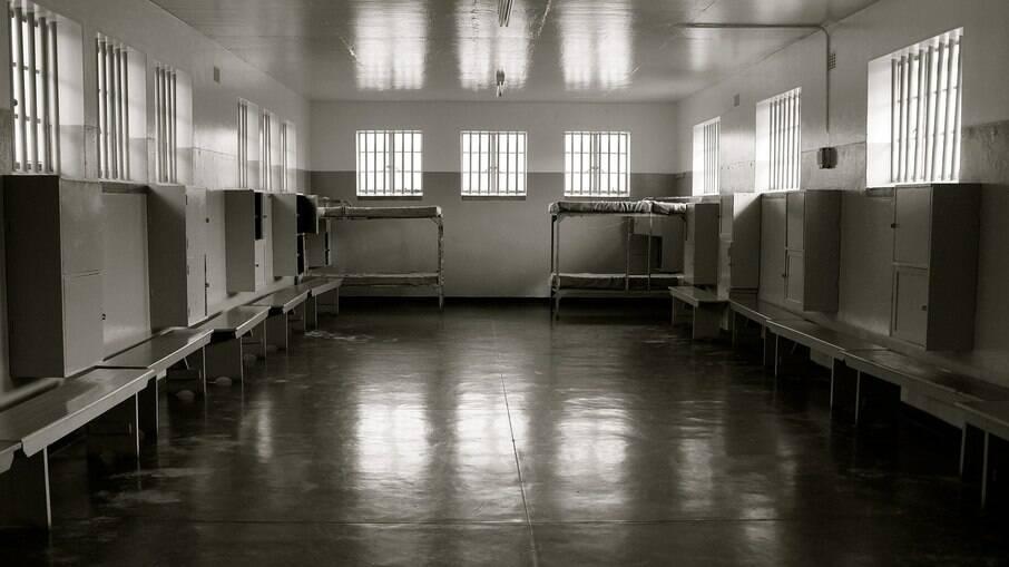 Local onde ficam os prisioneiros em Robben Island