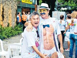 Os Paulos são pura animação! Paulo Navarro e Paulo Oliveira