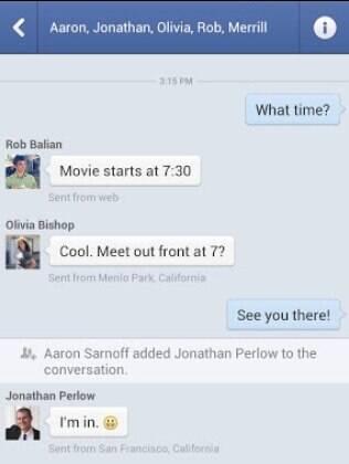 Facebook Messenger é aplicativo de mensagens da rede social