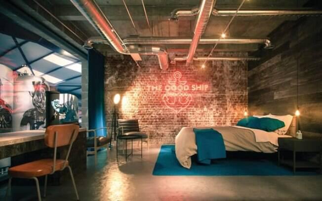 Os quartos no hotel de cerveja serão perfeitos para os amantes de uma gelada, contando com torneiras e geladeiras