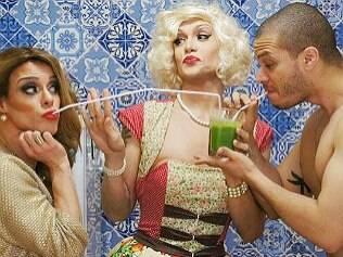 Drag queen: 'Quero substituir Bela Gil'