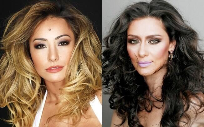 Entre os cabelos mais cobiçados: Sabrina Sato e Maria Fernanda Cândido