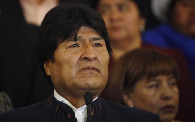 Ex-presidente da Bolívia, Evo Morales.