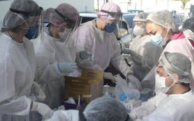A cidade apresenta 312 óbitos pela doença confirmados e 22 estão em investigação