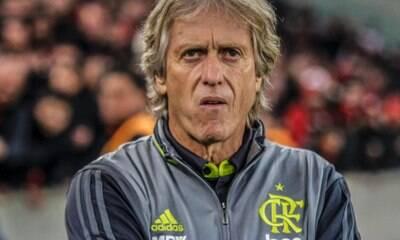 Jorge Jesus põe o Flamengo na Champions e alfineta Renato Gaúcho