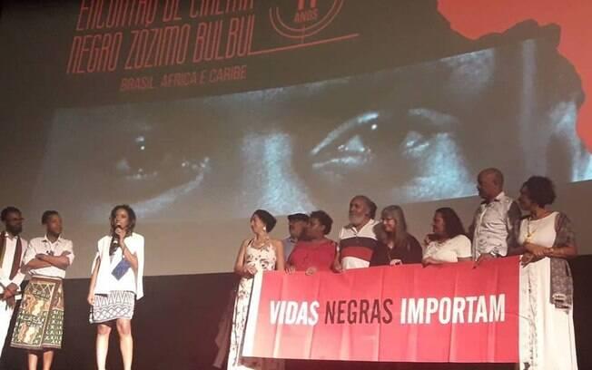 Cinema Negro! Caroline Moraes no Encontro de Cinema Negro Zózimo Bulbul