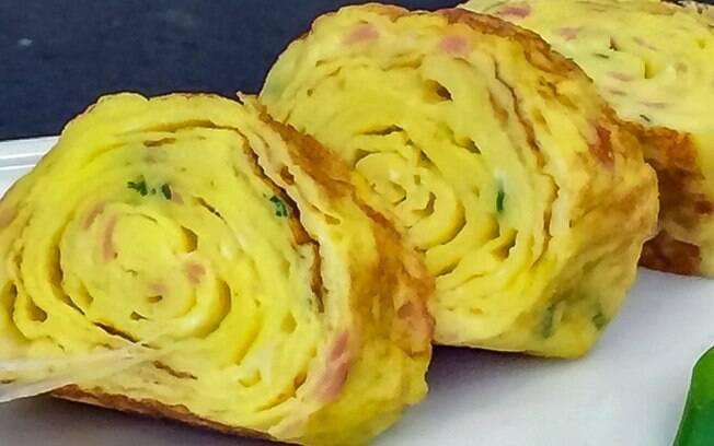 Omelete japonesa: aprenda a receita de Ana Maria Braga