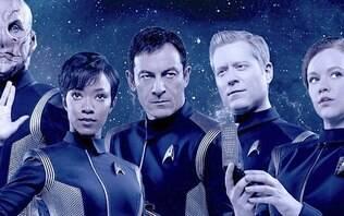 """""""Titãs"""", """"Star Trek"""" e zumbis sul-coreanos são destaques da Netflix em janeiro"""