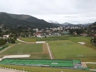Granja Comary conta com três campos oficiais, um deles com o mesmo gramado que vai ser utilizado durante a Copa