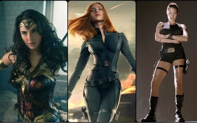 Poderosas e gatas! As 14 super-heroínas mais sensuais dos cinemas