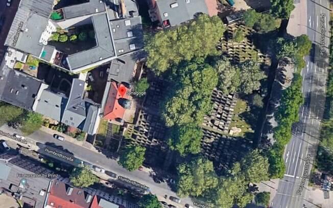Sinagoga foi alvo de ataque na Alemanha