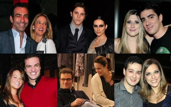 Veja como os famosos trocaram os primeiros olhares, as primeiras palavres e os primeiros beijos