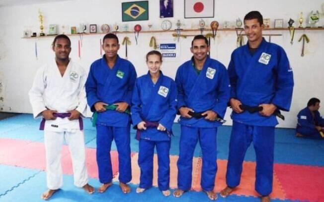 Atletas surdos do judô brasileiro