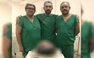 Médicos retiram cisto de 20kg do ovário de mulher; imagens são fortes