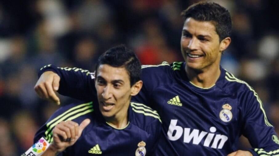 Di María e Cristiano Ronaldo