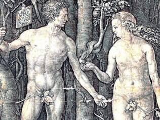 """""""Adão e Eva"""", obra de Albrecht Dürer é uma das criações a serem vistas"""