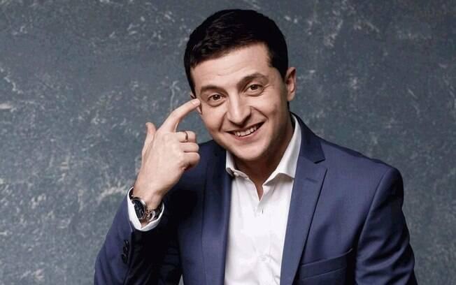 Comediante Volodymyr Zelensky é o favorito para assumir a presidência da Ucrânia