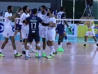 Sada Cruzeiro teve atuação de destaque nos dois primeiros sets