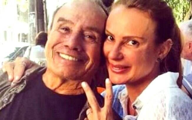 Stênio Garcia e marilene Saade estão juntos há 20 anos. Casal foi vítima de vazamento de fotos íntimas em 2015