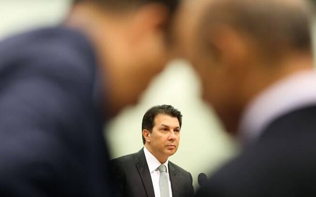 Relator da reforma da Previdência, Arthur Maia (PPS-BA), durante sessão da comissão especial na Câmara