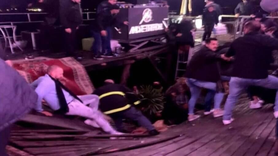 Acidente deixou um morto e cinco feridos no RS