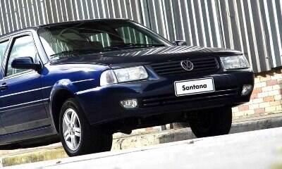 VW Santana foi do luxo à fama de carro do povo