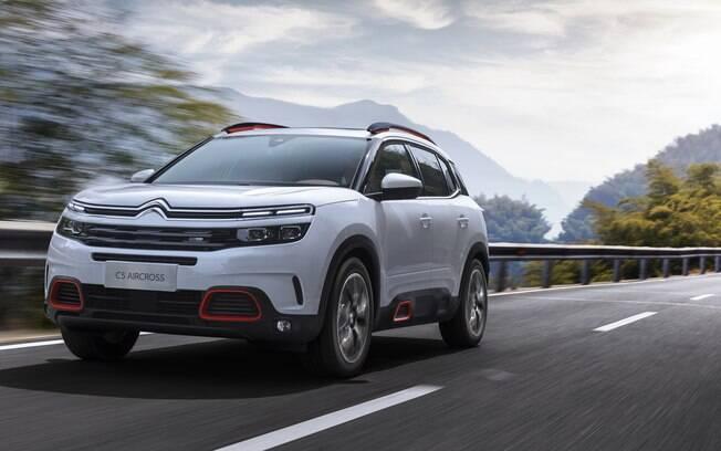 Citroën C5 Aircross chegará para brigar entre os SUVS médios, segmento que vai crescer no Brasil nos próximos meses