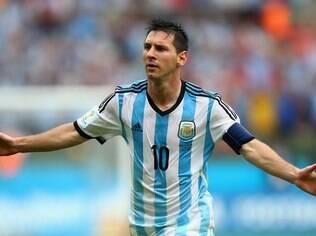 Messi foi o mais mencionado no Twitter