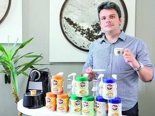 Determinação. O administrador de empresas, Rafael Duarte, divulga a marca Villa Café em diversos eventos empresariais pela cidade