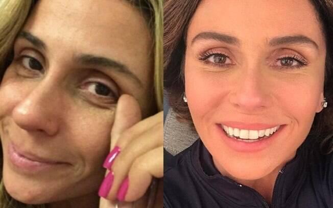 Que tal Giovanna Antonelli sem maquiage,?