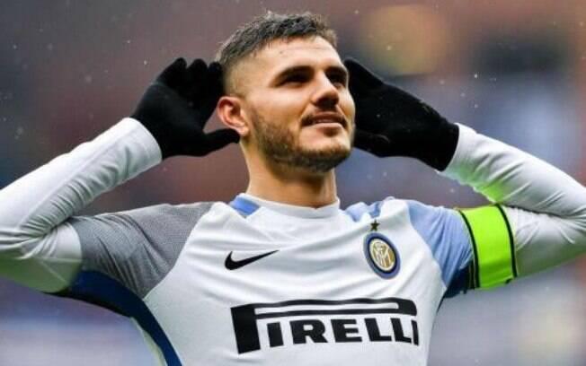 Mauro Icardi, atacante da Inter de Milão