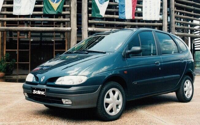 Renault Scénic azul