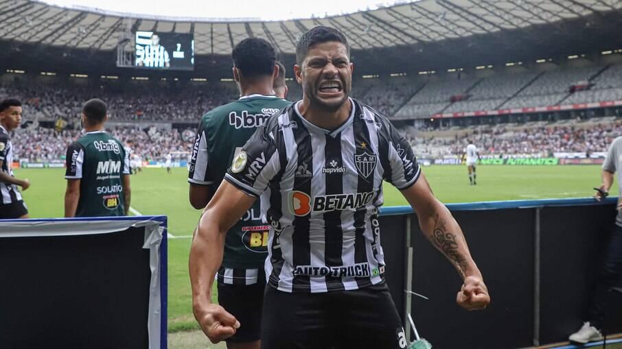 Hulk marcou dois na vitória do Atlético-MG sobre o Ceará