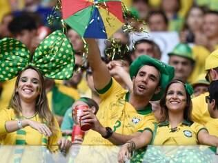 Normalmente, a venda de bebidas alcoólicas é proibida nos estádios brasileiros