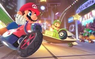 Trailer de encher os olhos de Mario Kart 8 mostra nova Rainbow Road - Home - iG