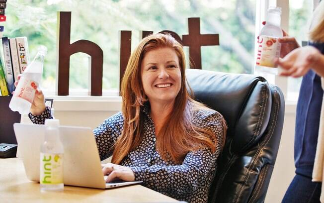 Kara Goldin, CEO da Hint Water