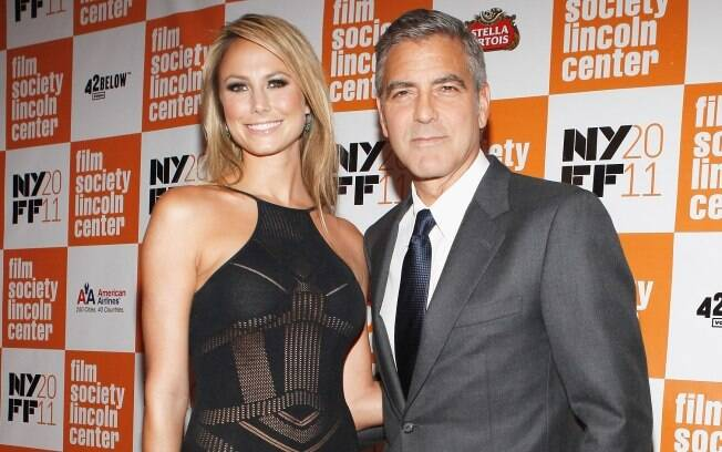 George Clooney e Stacey Keiber: romance