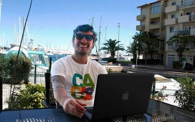 Bruno Pinheiro largou carreira corporativa para viajar o mundo e ser empreendedor digital