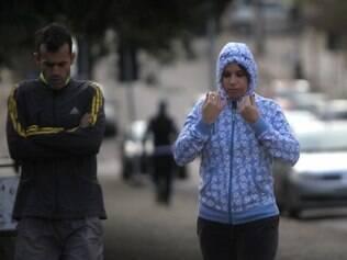 Cidades -  Belo Horizonte registra temperatura mais baixa do ano . Foto: Alex de Jesus/O Tempo 30/07/2014