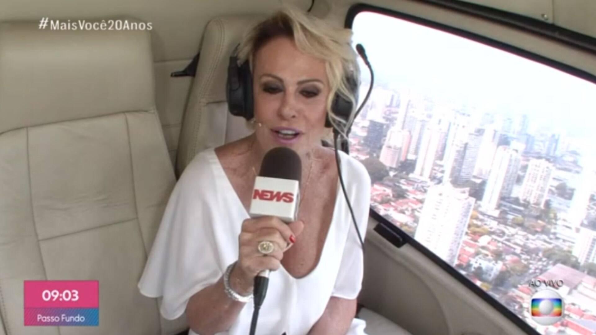 """Ana Maria Braga Fotos Nua mais você"""" completa 20 anos com ana maria emocionada e"""