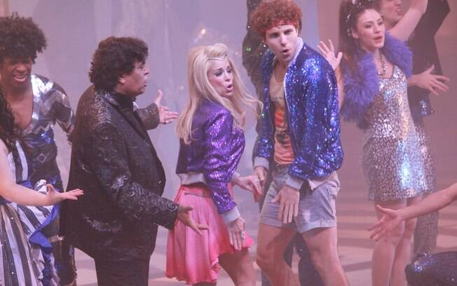 Danielle Winits e Thiago Fragoso no musical