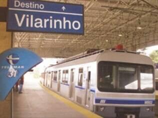A partir da segunda-feira, o trecho entre as estações São Gabriel e Vilarinho passa a funcionar nos dois sentidos reduzindo o tempo de espera pelo trem.