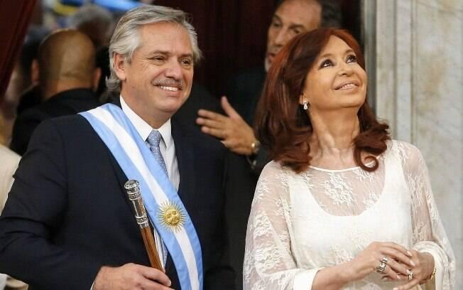 Alberto Fernández e Cristina Kirchner