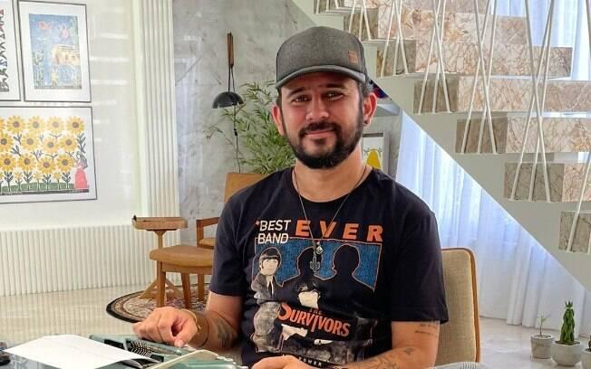 Bráulio comemora recuperação após complicações por causa da Covid-19