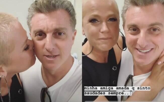 Xuxa e Luciano