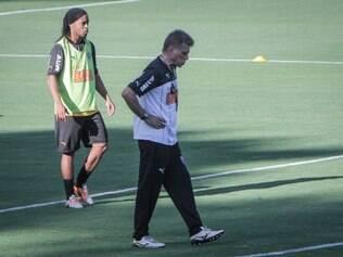 Autuori preferiu poupar craque alvinegro visando compromisso pela Libertadores, na quinta-feira