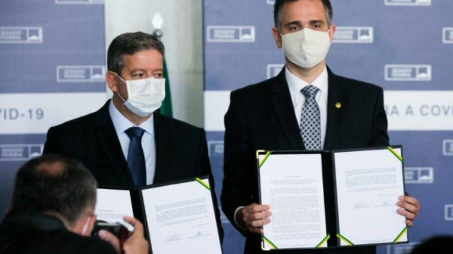 Presidentes do Senado e Câmara dos Deputados, Rodrigo Pacheco e Arthur Lira